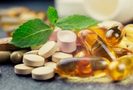 pills and multivitamins on a dark background, closeup; Shutterstock ID 253771126; PO: MC for TODAY